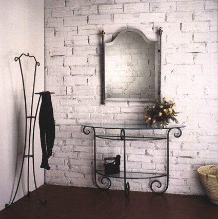 Como organizar e decorar o hall de entrada - Espejos para hall de entrada ...