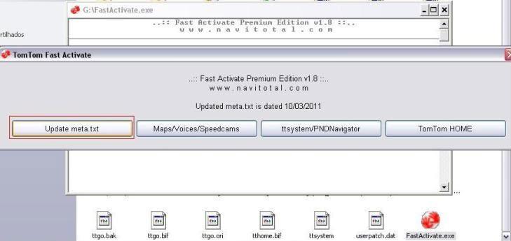 Desbloquear Mapas e Navcores - TomTom - c/ FastActivare