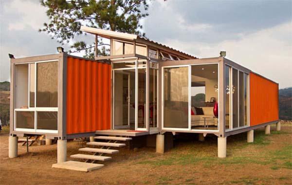 15 casas constru das com contentores mar timos - Contenedores maritimos baratos ...